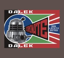 Dalek Deconstructivism One Piece - Short Sleeve