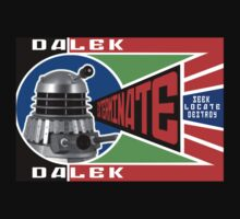 Dalek Deconstructivism One Piece - Short Sleeve