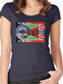 Dalek Deconstructivism Women's Fitted Scoop T-Shirt