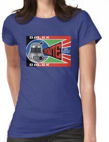 Dalek Deconstructivism Womens Fitted T-Shirt