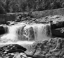 Glade Creek at Babcock by Lisawv