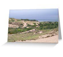 Walking Dunes Greeting Card