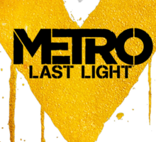 Metro Last Night Sticker