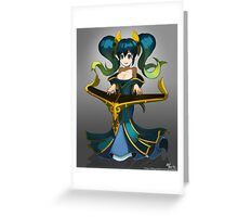 Sona fan art Greeting Card