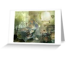 Sona vintage fan art Greeting Card