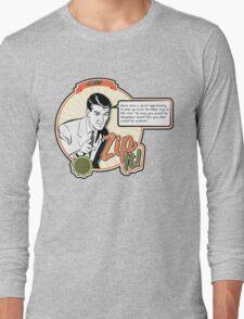 Zip It! - Job 13:5 Long Sleeve T-Shirt