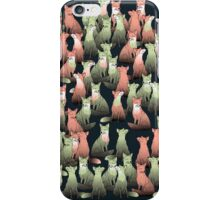 Sleeping foxes iPhone Case/Skin