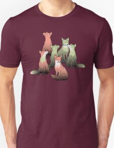 Sleeping foxes Unisex T-Shirt