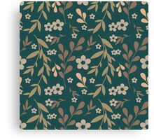 Flowers pattern Canvas Print