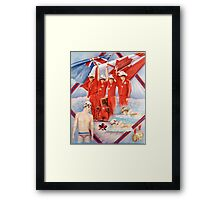 The Commonwealth Games Framed Print