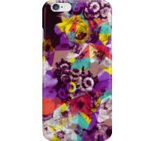 Colorful Geometric Flower Pattern iPhone Case/Skin