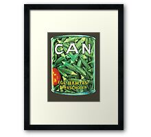 Can Ege Bamyasi T-Shirt Framed Print