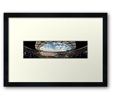 Weather with You - Sound Relief Melbourne - Panorama Framed Print