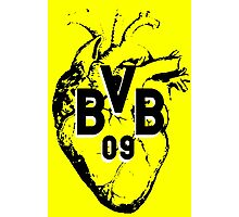 Borussia Heart Photographic Print