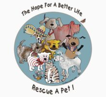 The Hope For A Better Life by arline wagner