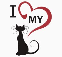 I love my cat One Piece - Short Sleeve