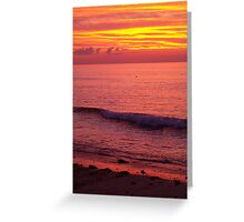 Sky of Fire Greeting Card