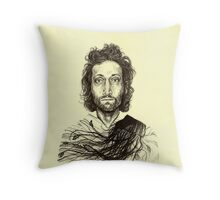 Vincent Gallo Throw Pillow