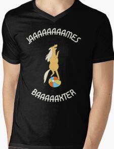 Jaaaaaaaames Baaaaxter Mens V-Neck T-Shirt