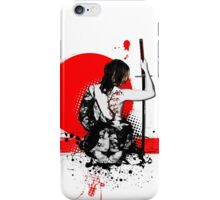 Trash Polka - Female Samurai iPhone Case/Skin