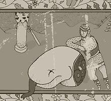 The Dragon Slayer by SamsonSpirit