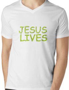 JESUS LIVES - Happy Easter! Mens V-Neck T-Shirt
