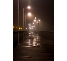 Damp Riverwalk Photographic Print