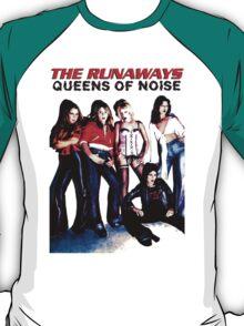 THE RUNAWAYS Queens Of Noise T-Shirt  T-Shirt