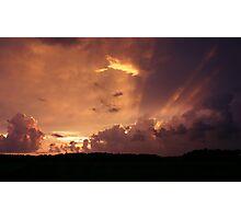 Florida Orange Photographic Print