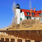 Point Betsie Lighthouse by Mark Bolen
