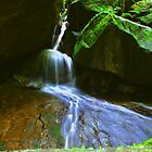Waterfall at Mount Stong by adng