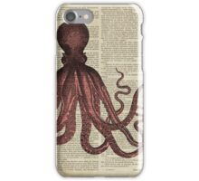 Old Octopus iPhone Case/Skin