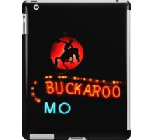 Buckaroo Motel Sign, Tucumcari, New Mexico iPad Case/Skin