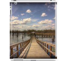 Black Bayou Pier iPad Case/Skin
