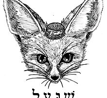 Peace Fox! by worldbeast