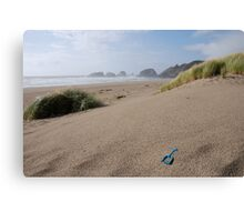 Canon Beach Shovel Canvas Print