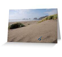 Canon Beach Shovel Greeting Card