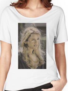 Airbrush Portrait - Renee Zellweger Women's Relaxed Fit T-Shirt