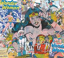 Vintage Comic Wonder Woman by Daveseedhouse