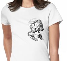 Eight Womens Fitted T-Shirt