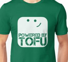 Powered by tofu Unisex T-Shirt