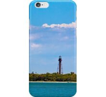 Sanibel LIghthouse and Pier iPhone Case/Skin