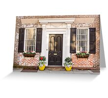 Pretty Home Front Greeting Card