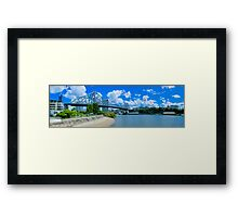 Story Bridge Brisbane Framed Print