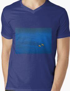 Little Fish in a Big Pond Mens V-Neck T-Shirt