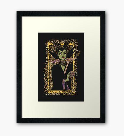Dark Faerie Framed Print