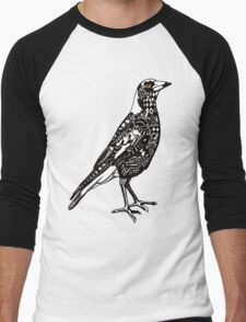 Australian Magpie Men's Baseball ¾ T-Shirt