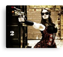 The Steampunker: Raven the Renegade Canvas Print