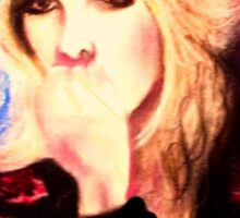 Intense Silence - Stevie Nicks 2 Sticker
