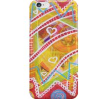 Glitter Candy for the Soul: Inner Power Paintings iPhone Case/Skin